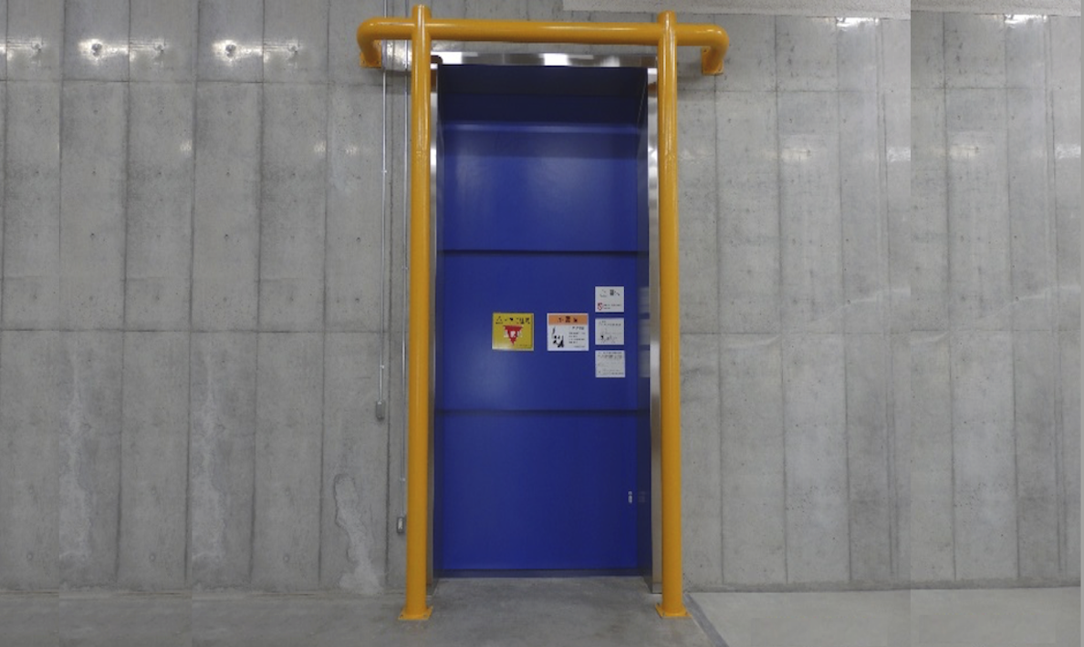 荷物用エレベーター No.1